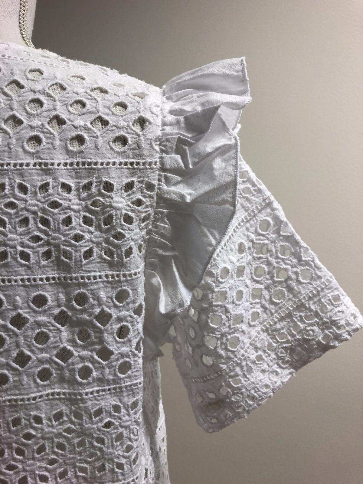 LINE DRESS WHITE #SS2018
